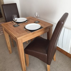 Dining Table For Two - Another Angle